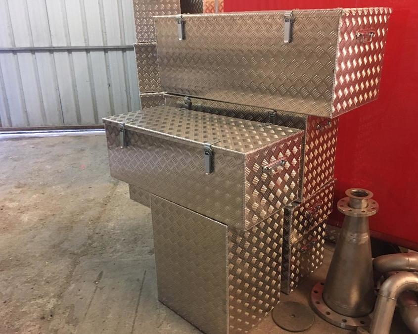 Coffre en aluminium