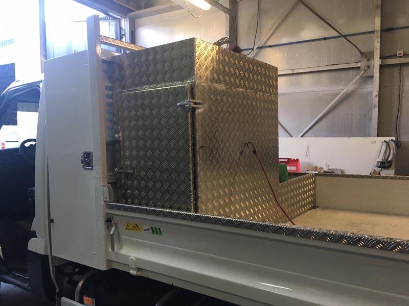 Aménagement Aluminium camion