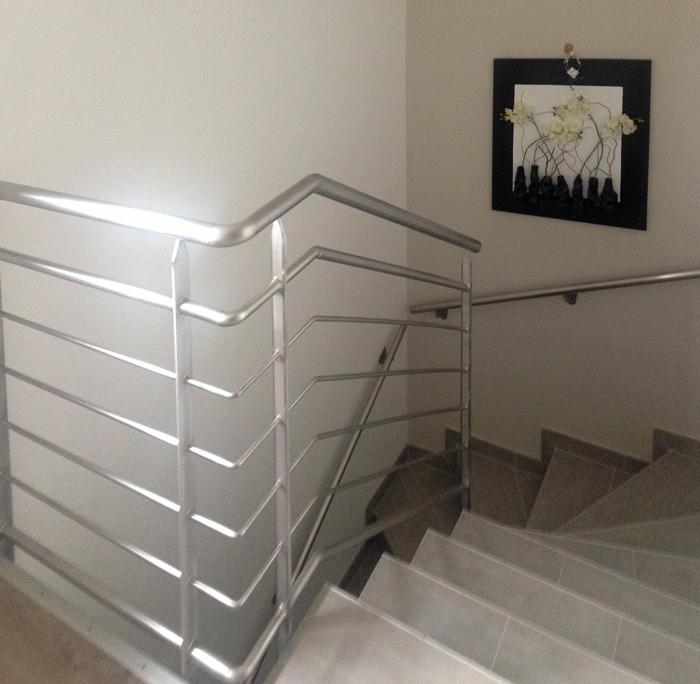 rampe intérieur inox