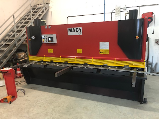 Cisaille mac 12mmx3000mm
