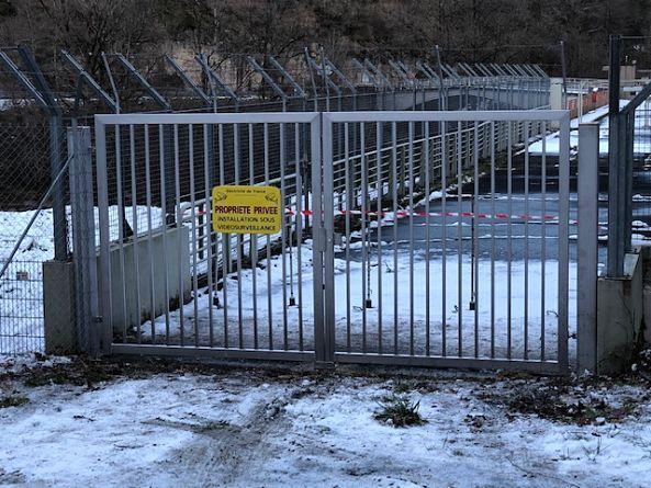 portail inox industriel